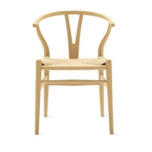 Amato Solid Wood Dining Chair by Bungalow Rose