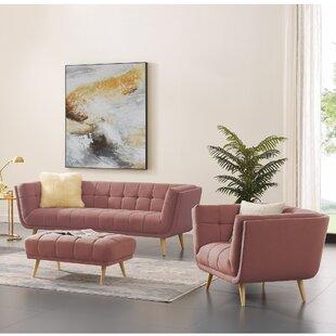 Shedrake 2 Piece Standard Living Room Set By Wrought Studio