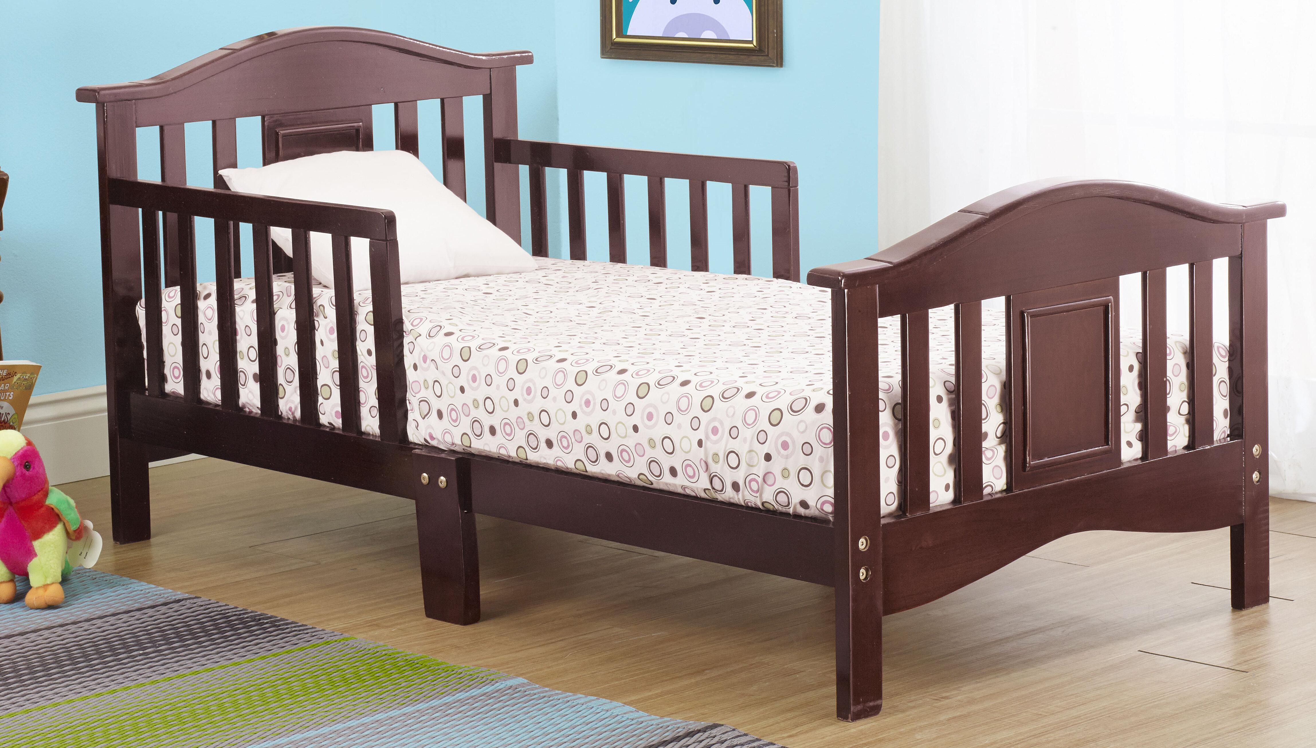 Orbelle Contemporary Convertible Toddler Bed Reviews Wayfair