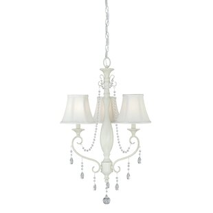 Mccullum 3-Light Shaded Chandelier by House of Hampton