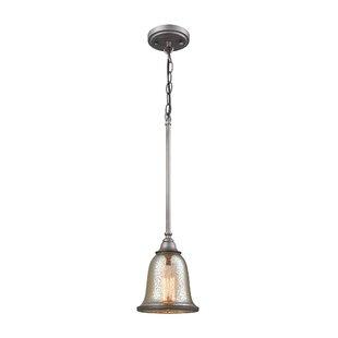 Waller 1-Light Bell Pendan..