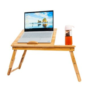 Portable Deluxe Bamboo Laptop Tray