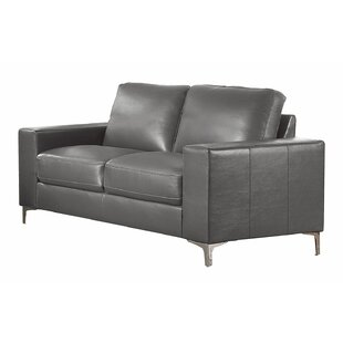 Melra Contemporary Cushioned Loveseat