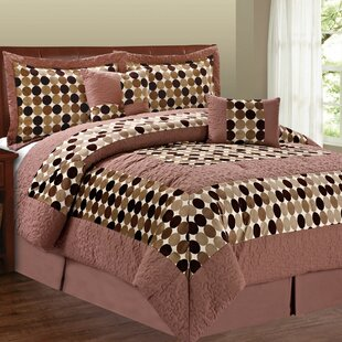 Serenta Big Dots 6 Piece Comforter Set