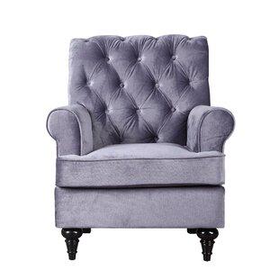 Chavers Classic Tufted Velvet Living Room Armchair By Alcott Hill