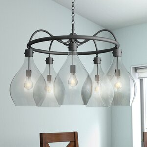 Nan 5-Light Shaded Chandelier