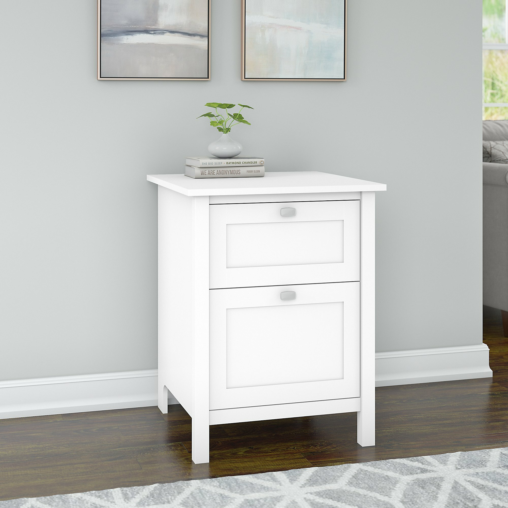 Picture of: Reavis 2 Drawer Vertical Filing Cabinet Reviews