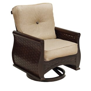 French Quarter Swivel Rocking Chair with Cushion
