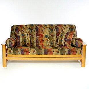 Bam Bam Box Cushion Futon Slipcover by Lifestyle Covers