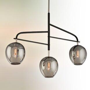 Brayden Studio Satchell 3-Light Sputnik Chandelier