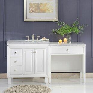 Reynal 67 Transitional Single Bathroom Vanity Set