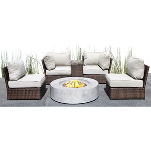 Orren Ellis Vasil 6 Piece Sectional Set with Cushions