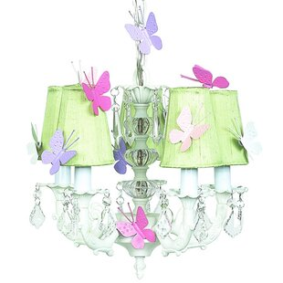 Jubilee Collection 5-Light Shaded Chandelier