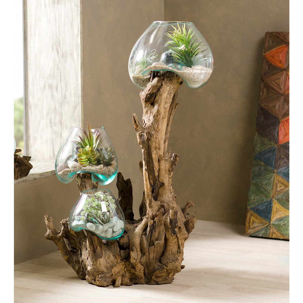Bloomsbury Market Rawls Glass Terrarium Wayfair