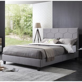 Price comparison Barnes Upholstered Platform Bed by Trule Teen Reviews (2019) & Buyer's Guide