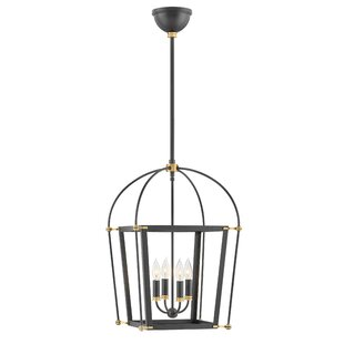 Selby 4-Light Lantern Chandelier by Hinkl..