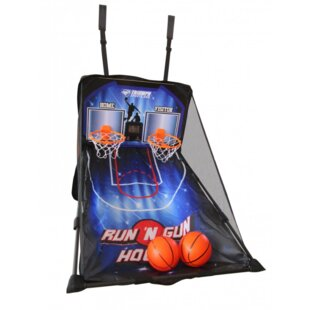 Run 'N Gun over the Door 2 Player Basketball with Carry Bag ByEscalade Sports