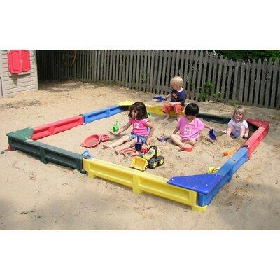 Kidstuff Playsystems, Inc. 8 ft Square Sandbox