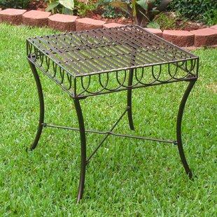 Sunray Iron Patio Side Table