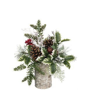 Mixed Pine Floral Arrangement
