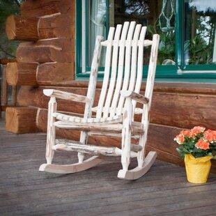 Loon Peak Abordale Rocking Chair