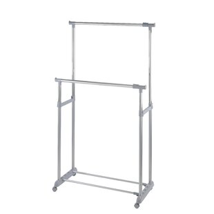 Mendell 163cm Wide Clothes Rack By Rebrilliant
