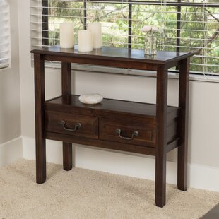 Bockman 30.5 Solid Wood Console Table