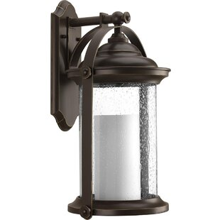 Audubon LED Wall Lantern by Breakwater Bay