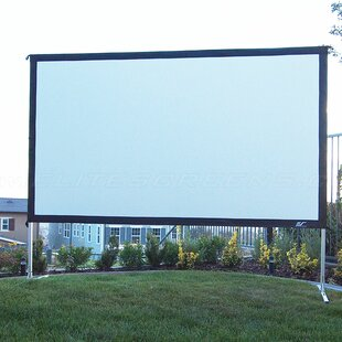 YardMaster Gray Portable Projection Screen by Elite Screens