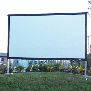 YardMaster2 White 135 diagonal Portable Projection Screen by Elite Screens