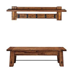Cummins Wood Bench By Blue Elephant