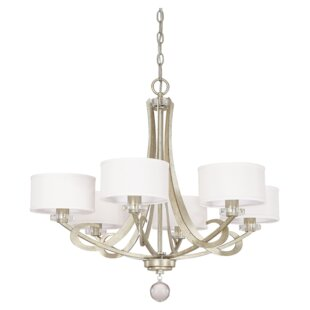 Capital Lighting Hutton 6-Light Shaded Chandelier