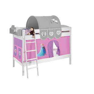 Disney's Frozen European Single Bunk Bed With Curtain By Frozen