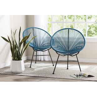 Travers Papasan Chair (Set of 2)
