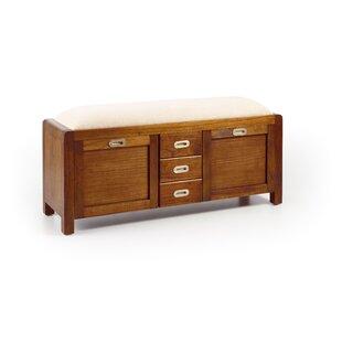 Best Price Abberville Wood Storage Hallway Bench
