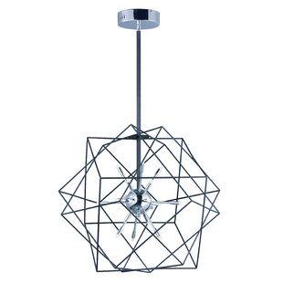 Hackmore 18-Light Geometric Chandelier by Ivy Bronx