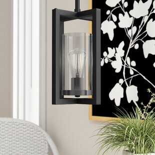 Bergenia 1-Light Square/Rectangle Pendant by Wrought Studio