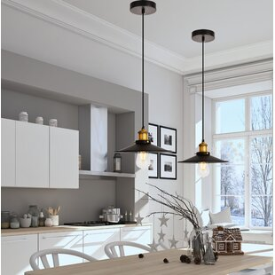 Breakwater Bay Glencourt 1-Light Cone Pendant
