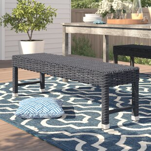 Crowley Aluminum/Wicker Picnic Bench by Sol 72 Outdoor