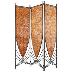 Ruelas 3 Panel Room Divider by Bloomsbury Market