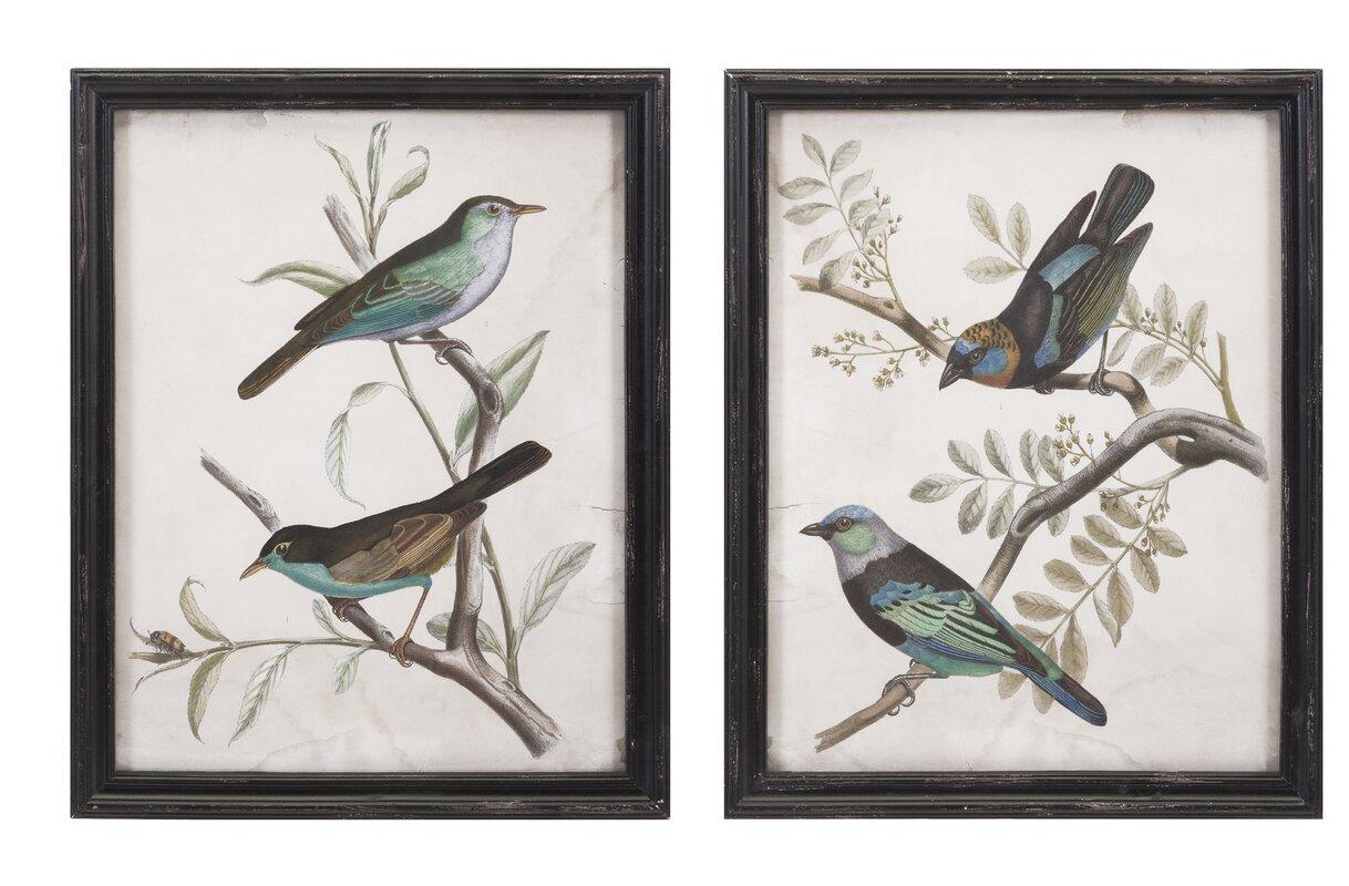 2 Piece Maisly Bird Wall Decor Set