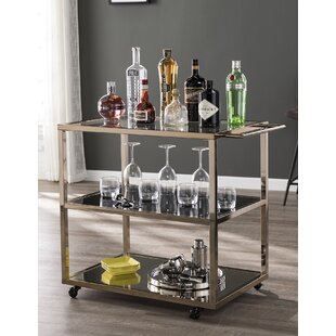 Soperton Bar Cart by Everly Quinn