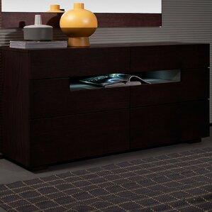 Camron Contemporary 6 Drawer Standard Dresser (Set of 2) by Orren Ellis