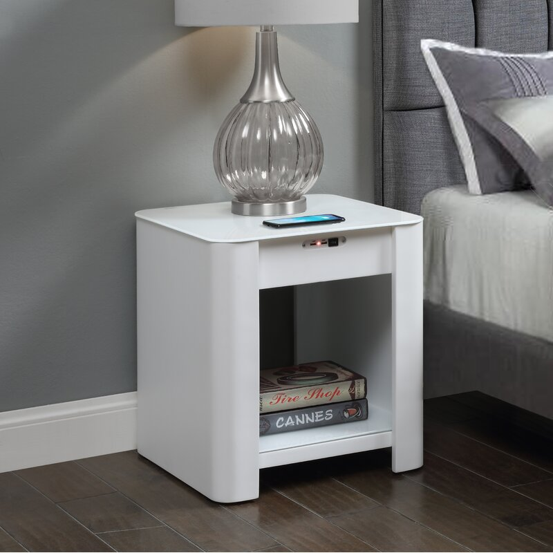 Buy Popular 147db 1b506 Charging Bedside Table