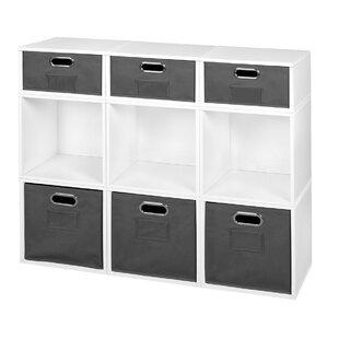 Top Chastain Storage Cube Unit Bookcase ByRebrilliant