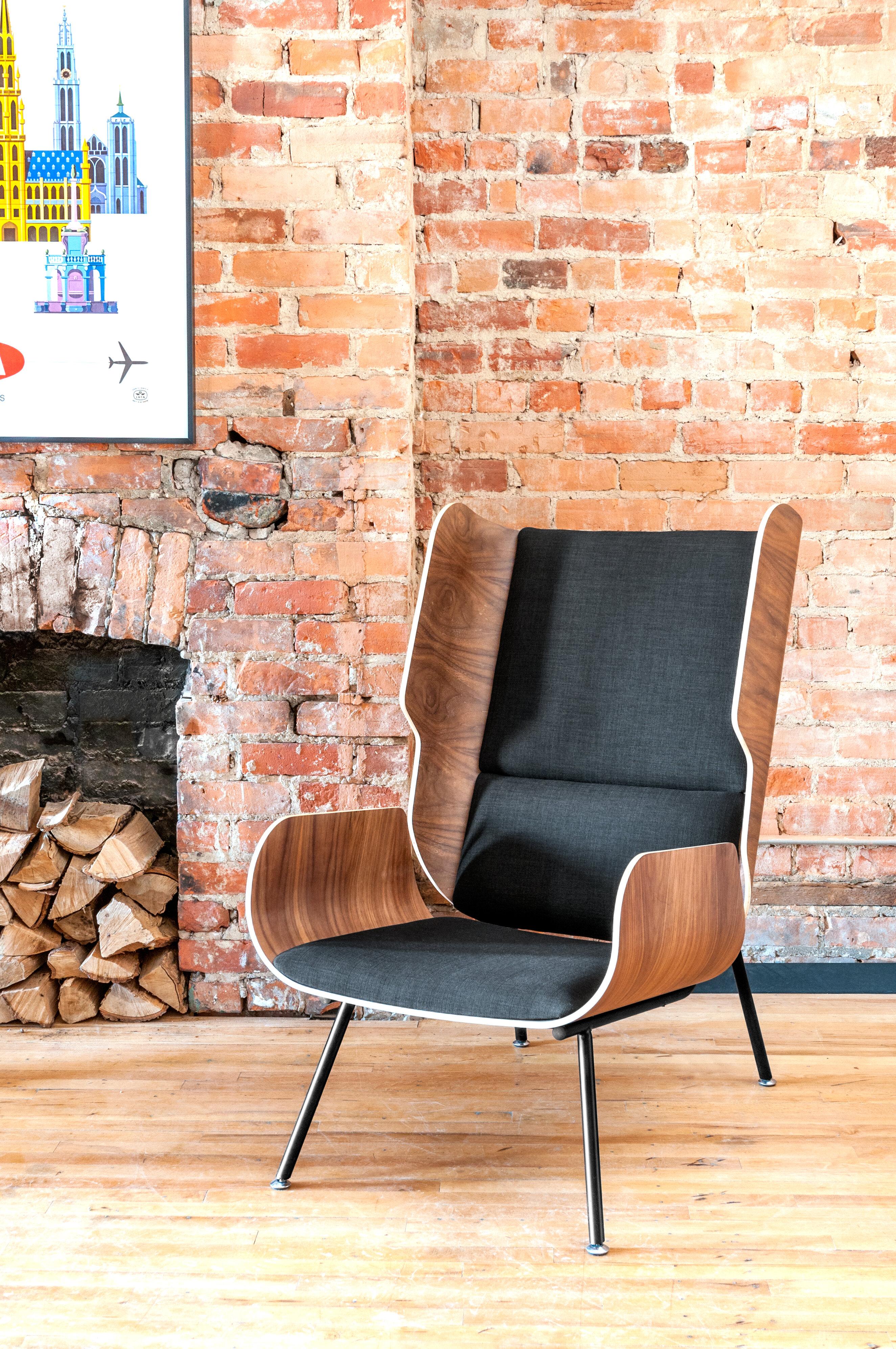 Elk Wingback Chair