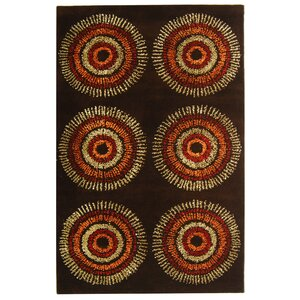 Chidi Brown/Gold Area Rug