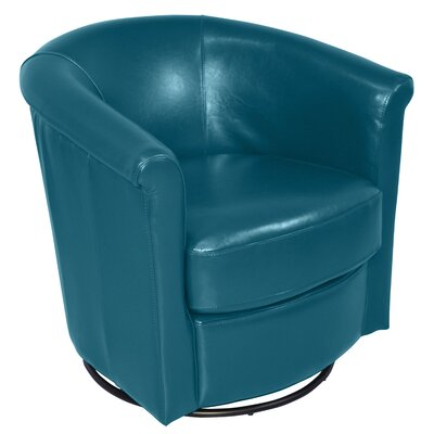Blue Velvet Swivel Chair Wayfair