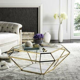 Coletta Coffee Table with Magazine Rack Willa Arlo Interiors