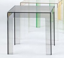 Kartell Ghost Jolly Side Table by Kartell #2